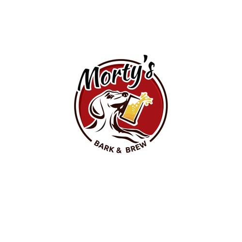 Logo for bark&brew restaurant