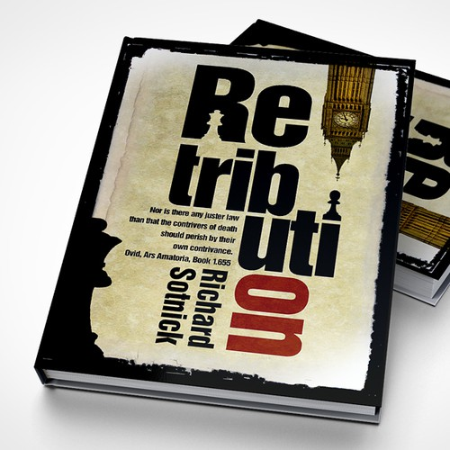 Help Publishing Services with a cover for RETRIBUTION: legal thriller