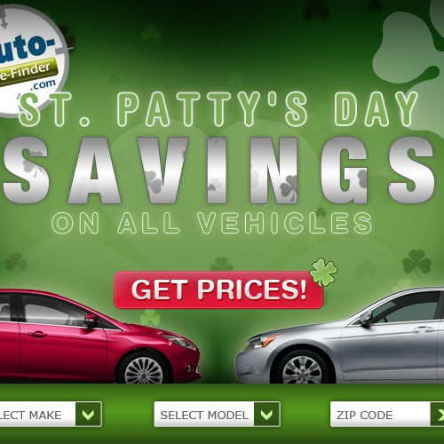 St. Patty's Day Auto Ad!