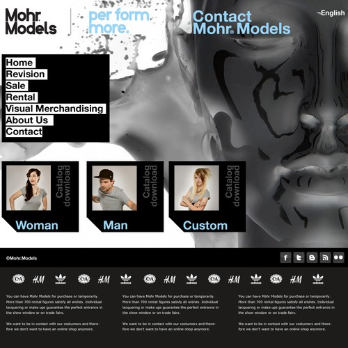 MohrModels needs a new Website Design