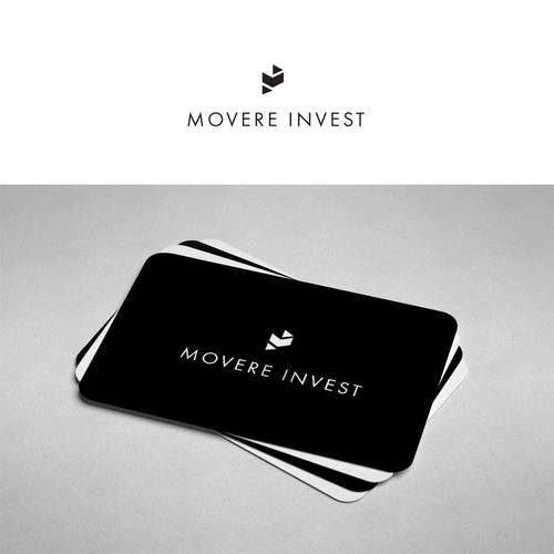 Minimalistic and modern logo for financial consulting