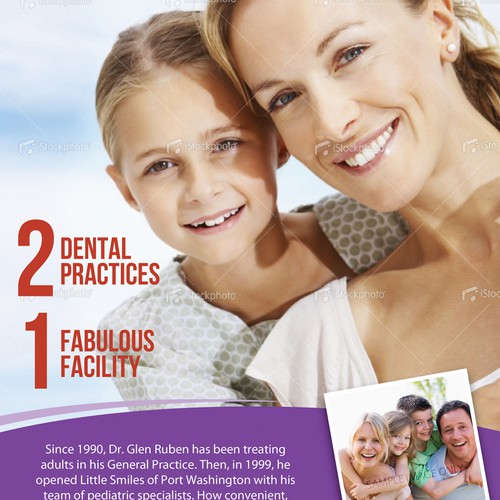 Flyer for Dental Company