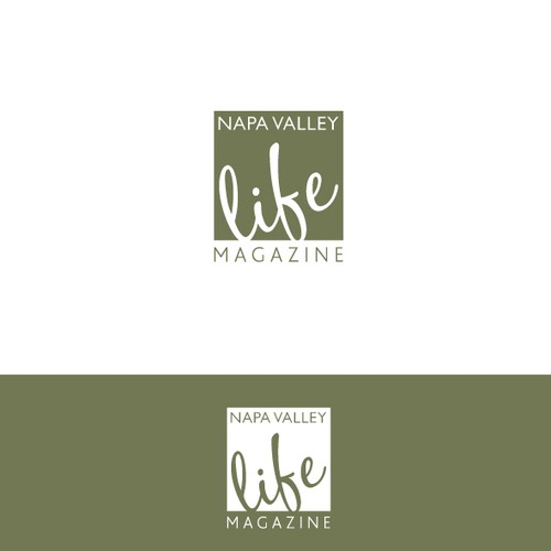 New logo wanted for Napa Valley Life Magazine
