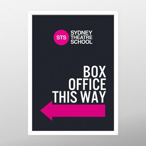 Signage for Theatre School