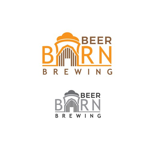 Logo concept for barn brewers