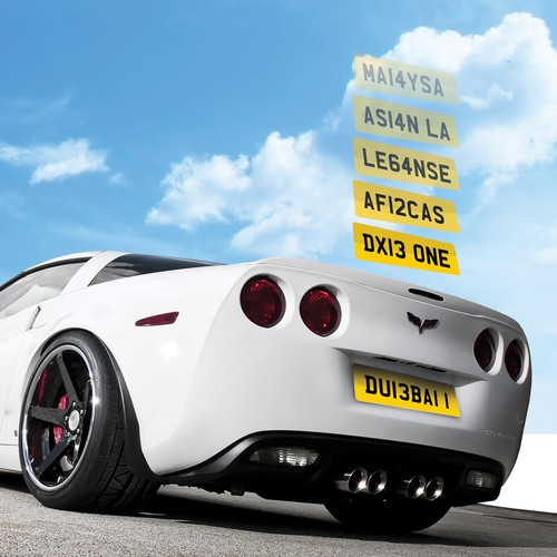 Exclusive British Number Plates
