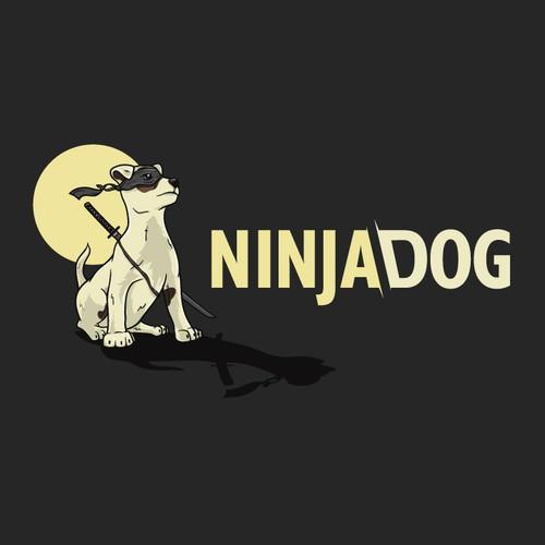 Ninja Dog Logo