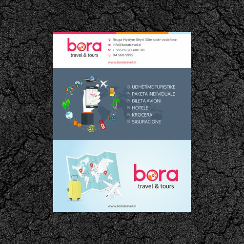 Bold Concept of Bora Travel & Tour