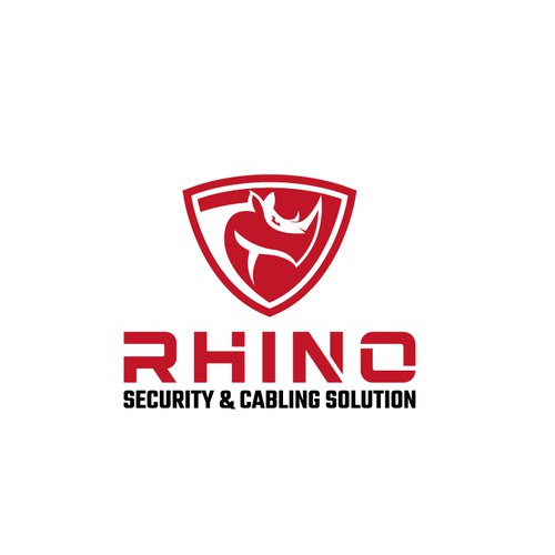 Rhino shield logo.