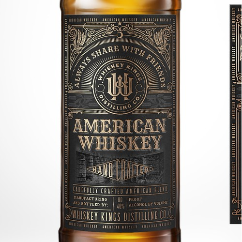 American Whiskey by WHISKEY KINGS.