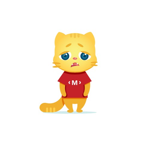 Design of the corporate character (cat)