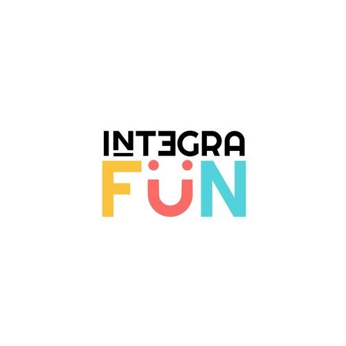 Fun logo for family game