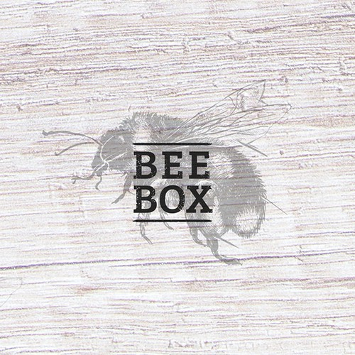 BEE BOX logo concept