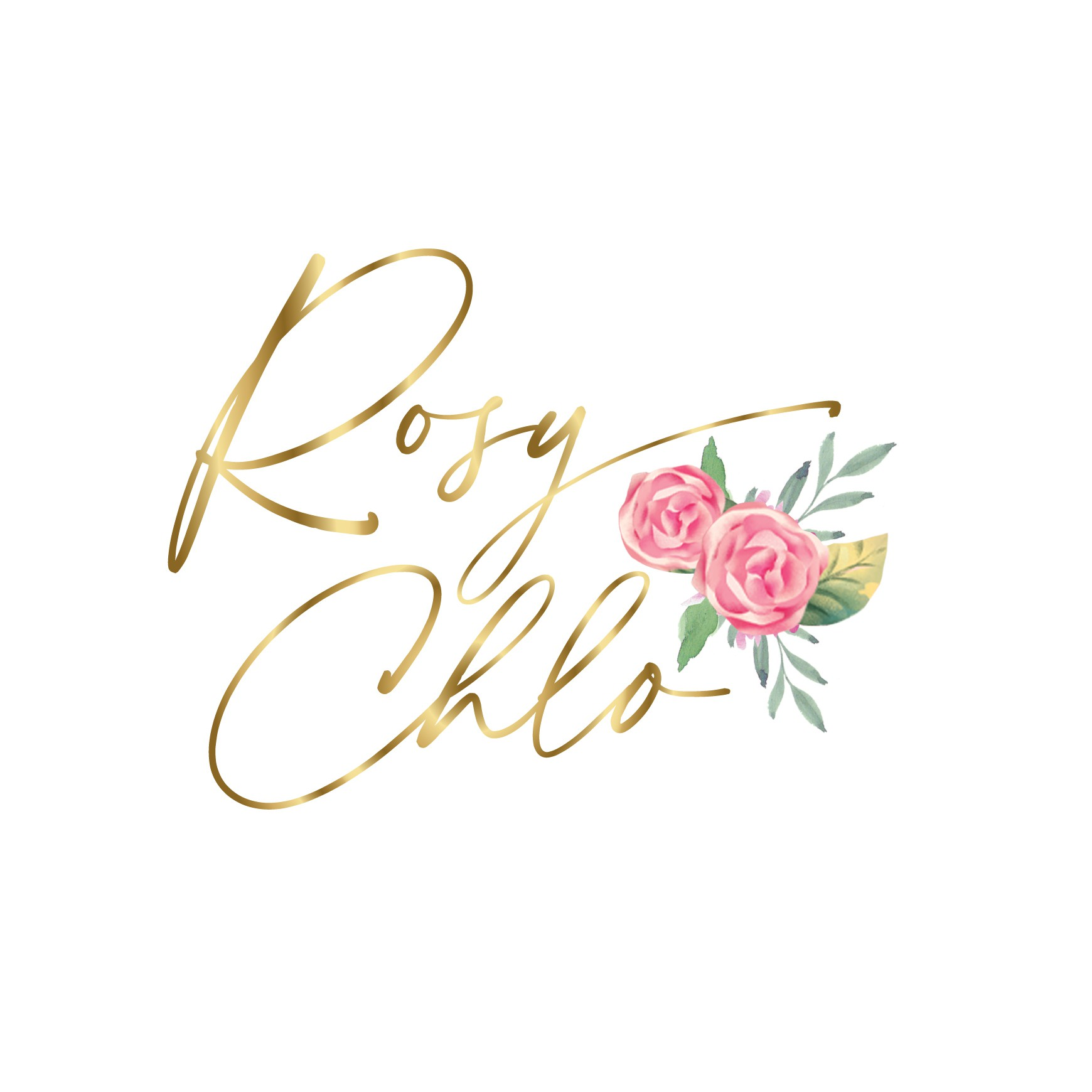 Shabby Chic Romantic Floral Logo