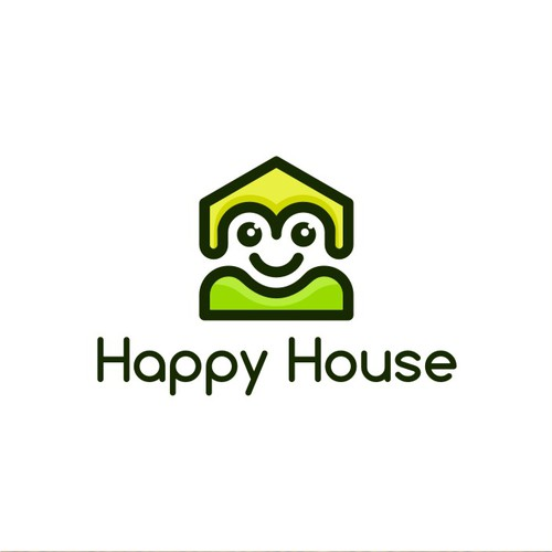 Happy House logo concept