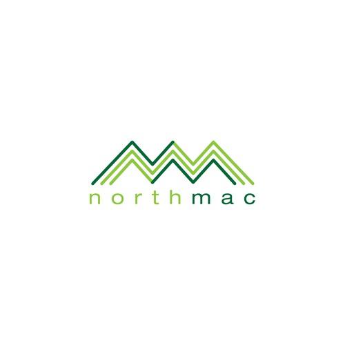North Mac logo design