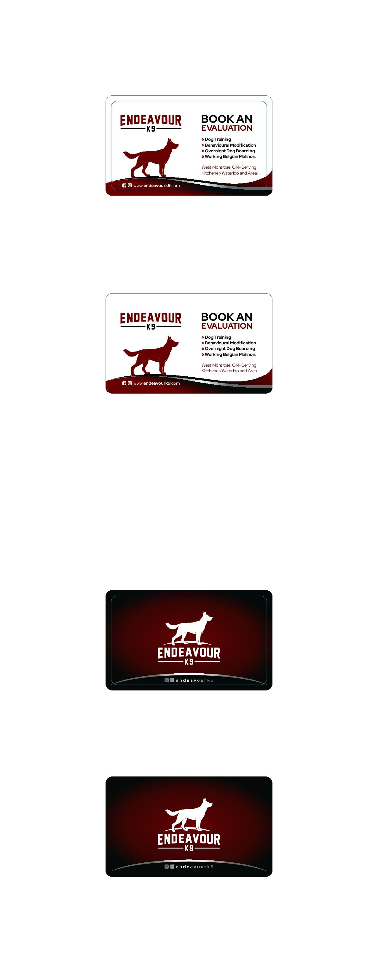 Dog Boarding, Training Breeding Business Card