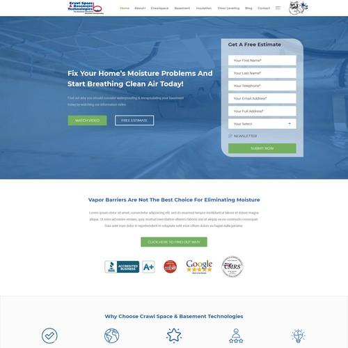Top designer wanted for lightning fast & extravagant website design for home improvement company