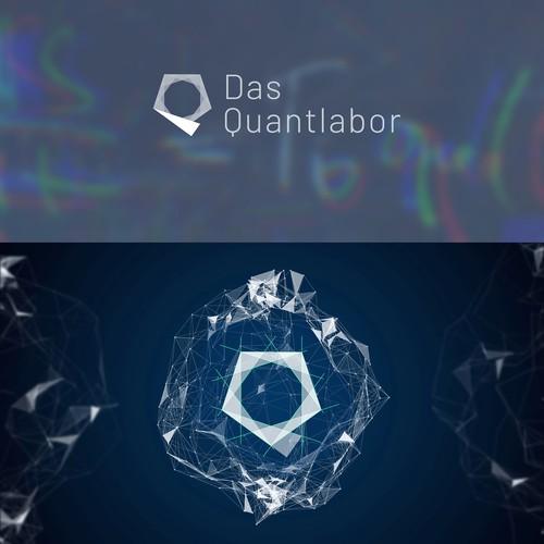 Logo design for Das Quantlabor, a German quantitative-analysis consulting firm