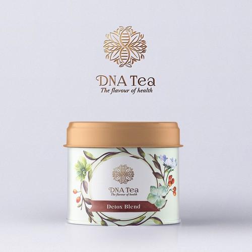 DNA Tea Packaging