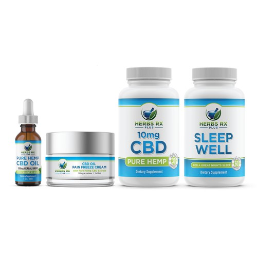 CBD Product labels