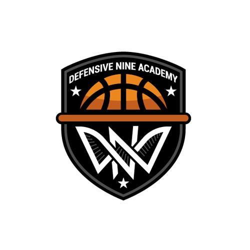 Modern Eye Catching Logo for a Defense Based Basketball Academy