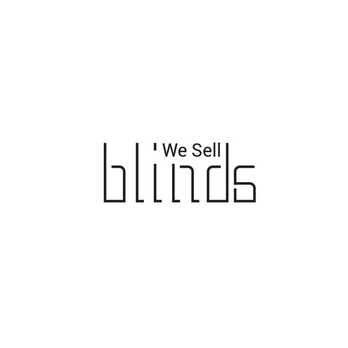 We sell blinds