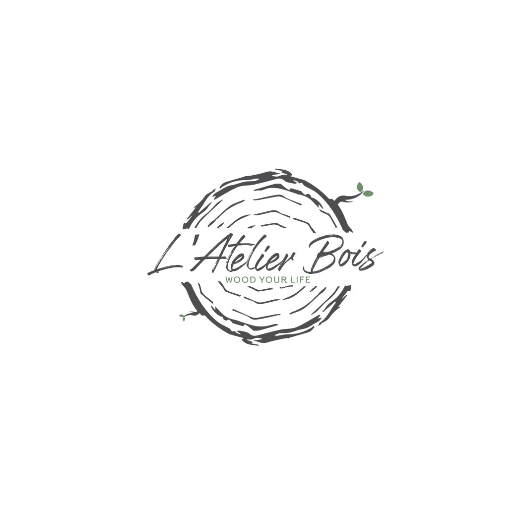 L'Atelier Bois, refined and natural Logo creation