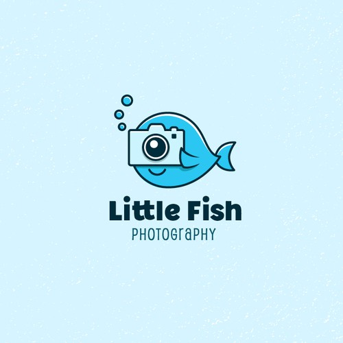 A fun + simple logo for a family photographer