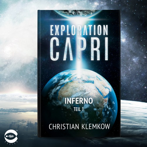 "Book cover for ""Exploration Capri – Inferno"" by Christian Klemkow"