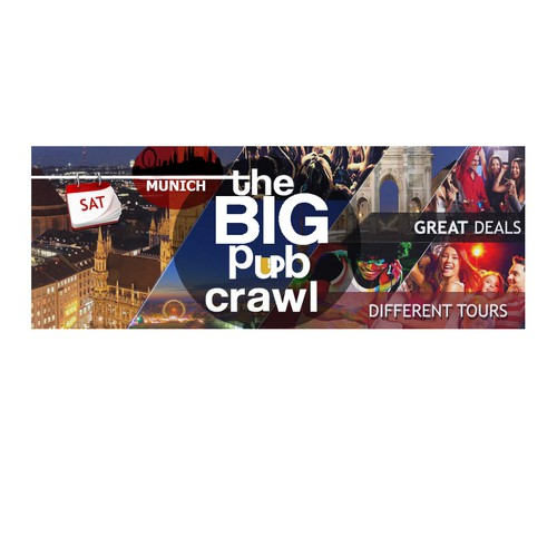Facebook cover for The big pub crawl in Munich