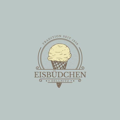 Logo ice cream Foodtrailer