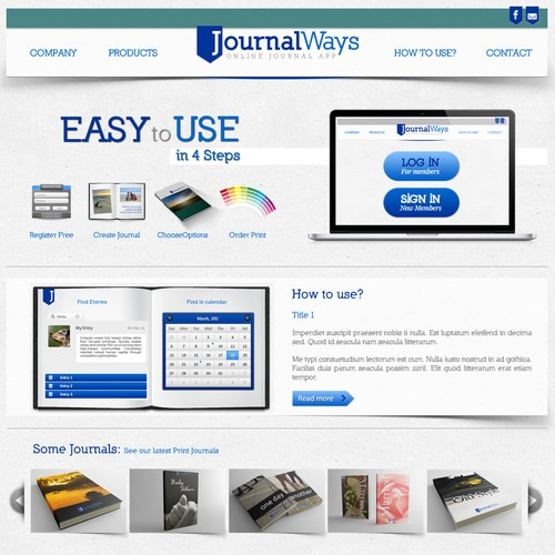 Fun Design Contest for JournalWays