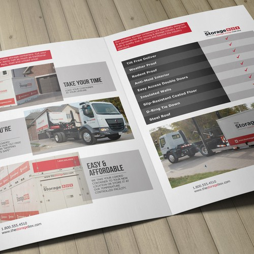 Commercial Brochure for The Storage Box