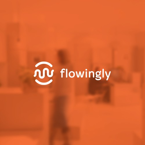 Flowingly Logo Design