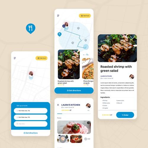 Food finder app