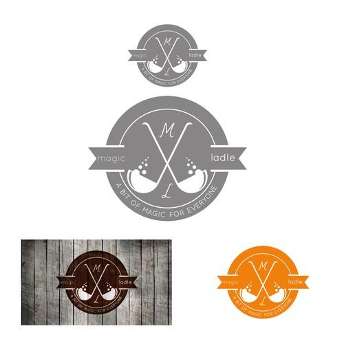 Logo For Magic Ladle