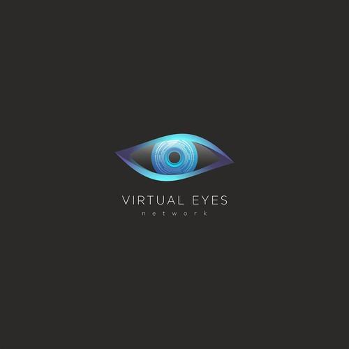 Vitrual Eyes logo