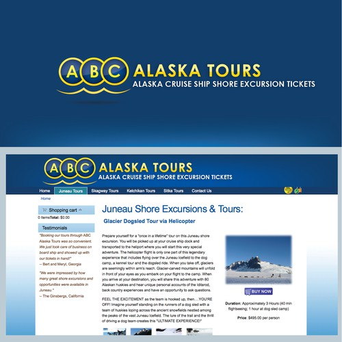 New logo wanted for ABC Alaska Tours