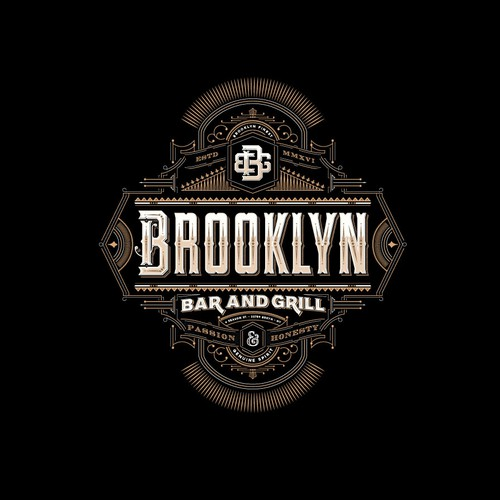 Brooklyn Bar and Grill - Logo