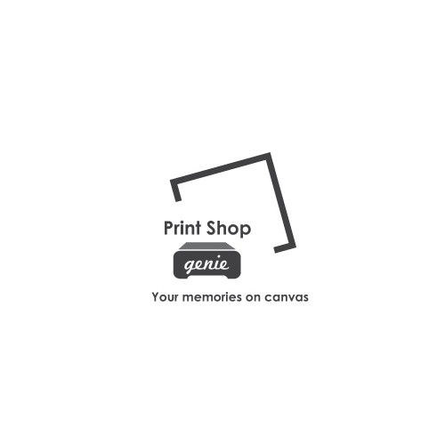 Create a logo for a canvas printing company