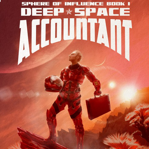 Cover Art and Design for SF Novel Deep Space Accountant