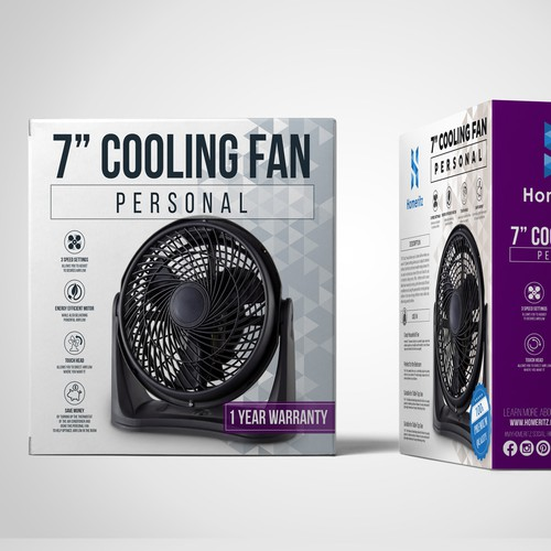 Cooling Fan Box Design