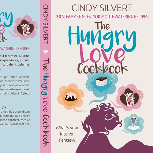 The hungry love cookbook - A collection of sexy short stories that revolve around cooking.