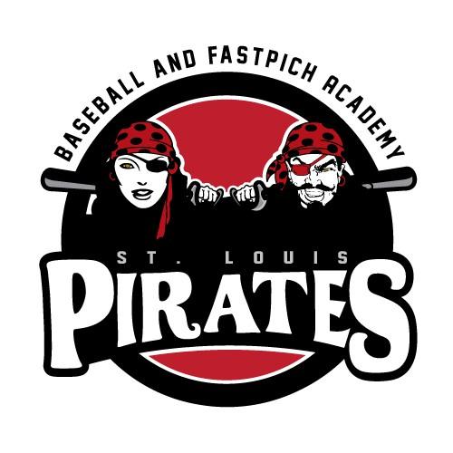 Pirates Baseball Academy Logo