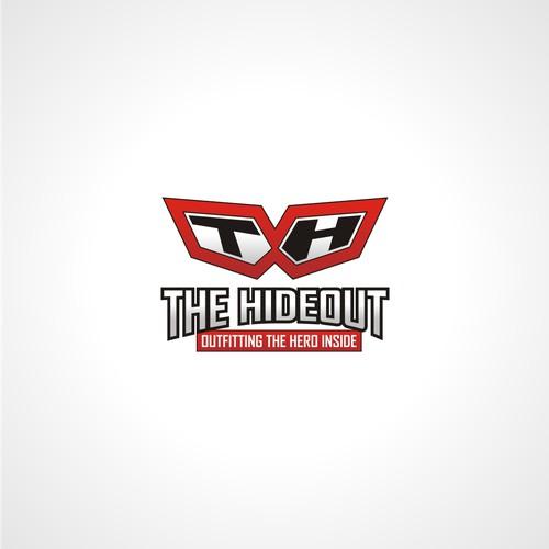 Hero logo Concept for t-shirt