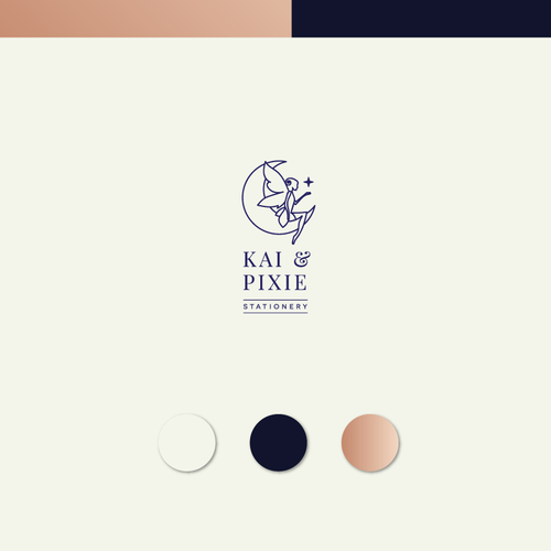 kai and pixie logo design