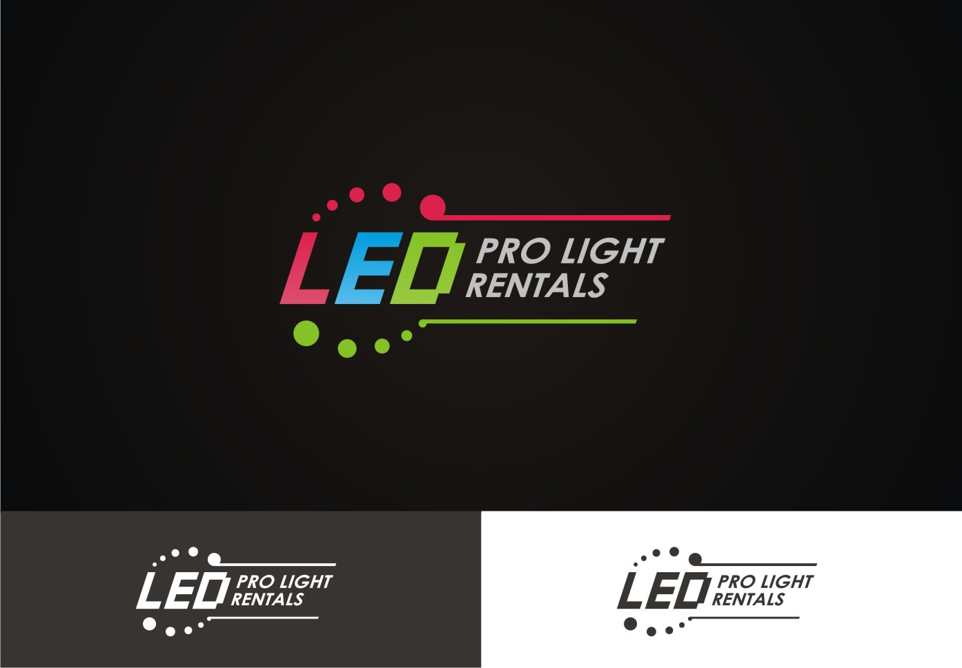 Create a Great looking logo for LEDProLightRentals