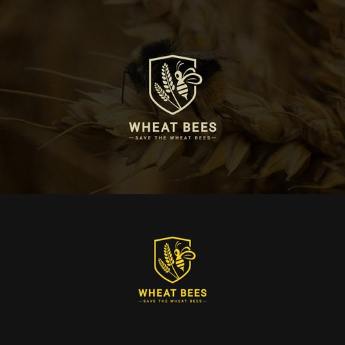 Logo Design for Wheat Bees