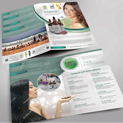 Organic Skincare & Charity Flyer
